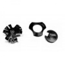 Black - Aluminum Set of 3 Pieces for All V3 Motors