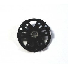 Black Rear Endcap with Ball Bearing for 540 4 Pole SCT motor